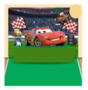 Cars Square Backdrop 80x 60 Inch Birthday Party Decoration Suppliesandnbsp