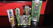 New In Box Replica Gearbox Gas Pump Collectibles Lot Of 6 John Deere Shell