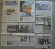 Princess Diana English Crown Royalty Large Magazine And Newspaper Clippings Lot 24