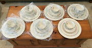 Lenox Citation Gold 6 Place Settings 30 Pcs Temple China Plate Cup Saucer New