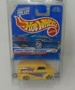 Hot Wheels 1998 First Editions Dairy Delivery Yellow Got Milk Custom In Blister