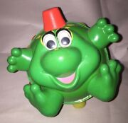 Bumble Ball Buddy Bullfrog Bouncing Toy 18 Months Ertl Tested Works Fun