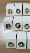 Haikyuu Exhibition Tokyo Limited Pin Badge Complete Set Anime From Japan A2548