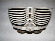 Triumph Motorcycle Vintage Aluminum Wellworthy Cylinder Apd 395 England