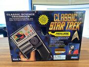 Empty Box Only - Classic Star Trek Classic Science Tricorder