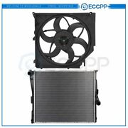 Electric Radiator Cooling Fan Kit For 2004 2005 2006 Bmw X3