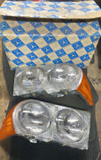 1973-1985 Mercedes Benz Sl Bosch Left And Right Front Head Lamps