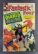 Fantastic Four 1961 30 Vg 4.0 1st Appearance Diablo Jack Kirby Cover And Art