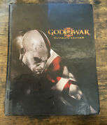 God Of War Iii 3 Hardcover Ultimate Edition Official Strategy Guide Ps3 Art Book