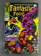 Fantastic Four 1961 76 Vf- 7.5 1st Appearance Indestructible One Jack Kirby