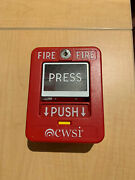 Cwsi Model 310 Wireless Pull Stations For Cwsi Wireless Fire Alarm System
