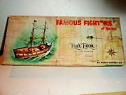 Aurora Vintage Kit Black Falcon, Famous Fighters Of The Sea Series, 1/00 Scale