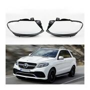 Mercedes Gle Wagon / Coupe 15-19 - Headlight Lens Plastic Covers Pair