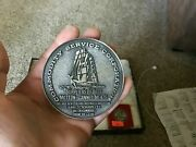 Commodity Service Corporation 120 Wall Street Supplier Of Beef Medal Paperweight