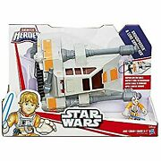 Secondhand Playskool Heroes Star Wars Galactic Jedi Force Snowspeeder Vehicle