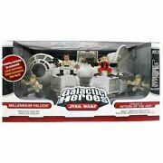 Star Wars Galactic Heroes Millennium Falcon With Figures Return Of The Jedi