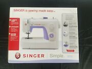 Singer Simple 3232 Sewing Machine - W/ 32 Built In Stitches Sewing Made Easy