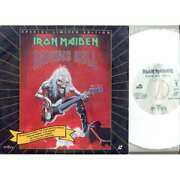 Iron Maiden Raising Hell Usa 1993 Promo-only 2-trk 8 Laserdisc Video Unique Ps