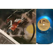 Hawkwind Hall Of The Mountain Grill Italy 1974 Original Traslucent Blu Wax Lp Ps