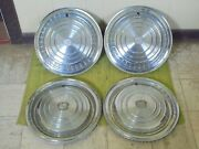 1960 Cadillac Hub Caps 15 Set Of 4 Caddy Wheel Covers Hubcaps 1960