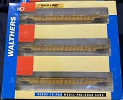 Walthers Ho Scale Ttx 620630. 3pc Set. Nsc 3-unit 53' Well Car 932-3942