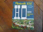 1960 Ho Gauge Bachmann Plasticville Catalog-h New Birds And Dogs Of The World
