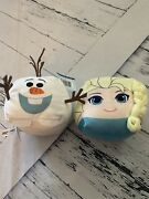 Cubd Collectibles Frozen Olaf And Elsa New Plushies