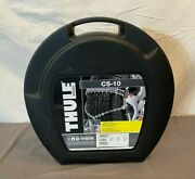 Thule Cs-10 090 Automatic Release Self Tensioning Tire Chains Car Suv New