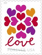 1000 50 X 20 Usps Forever Love Hearts Blossom Stamps First Class Ship From Usa