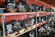 Engine Assembly Audi A4 17 Broken Upper And Lower Oil Pans