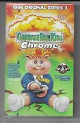 2020 Topps Garbage Pail Kids Chrome Series 3 Factory Sealed Hobby Box From Case
