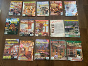 15 Log Homes Illustrated, Log Home Living Country's Best Log Home Magazines 1990