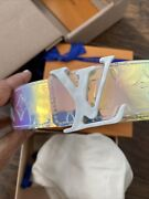 Sold Out Louis Vuitton Lv 40mm Belt Prism Iridescent New Virgil Abloh Off White