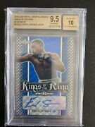 2018 Leaf Metal Sports Heroes Errol Spence Jr. Auto And039d 5/10 Kings Of The Ring