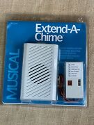 Nos Nip New Dimango Musical Extend-a-chime Plug-in Use W/ Existing Door Chimes