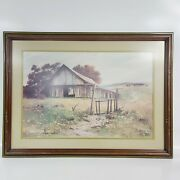 Vintage Gary Jenkins Gone Are The Days Limited Print 112 Of 450 Signed W/ Coa