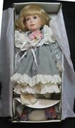 Rare Effanbee Victoria Mp 122 Limited Edition Signed Doll With Coa