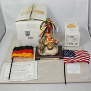 Hummel 2004 Signed And Scape 1011-d And039d 842/950 Excl Ed Gold Oktoberfest Mib