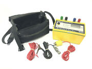 Aemc 4610 Digital Ground Resistance Tester W/ Case And Leads 2