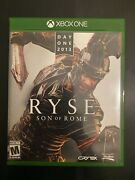 Day One 2013 Ryse Son Of Rome - Game With Case - Xbox One - Authentic - Tested