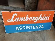 Lamborghini 1960and039s Rare Original Enamel.sign Vintage Old Advertising
