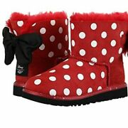 Ugg Disney Minnie Sweetie Bow Boots Limited Edition Kids Size 4 / Women 5.5