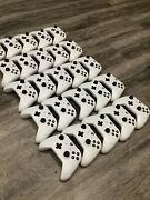 Lot Of 25 White Xbox Bluetooth Controllers
