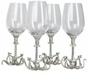 Set Of Glasses For Wine Glass Vintage Pewter Drinking A Glass Of Whiskey Gift...