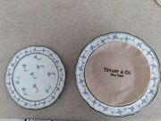 Ceralene A.raynaud Et Cie Limoges Cornflower Bread And Butter Plates.