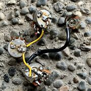 1984 Gibson Flying V Wiring Harness, Pots Les Paul Sg Es-335