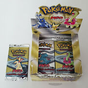 🚦1 Pokemon 1st Edition Neo Genesis Booster Pack- Typhlosion - Unweighed -sealed