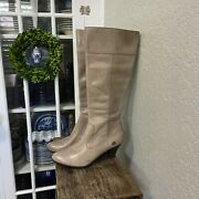 Born Mallory Burnished Taupe Boot 9.5 M Nwot