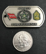 Us Army Deputy Chief Of Staff G4 Command Warrior Ethos Challenge Coin - Army G4