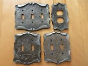 Amerock Carriage House Light Switch + Plug Outlet Plate Covers Vintage